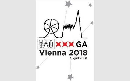 Logo IAU General Assembly Vienna 2018